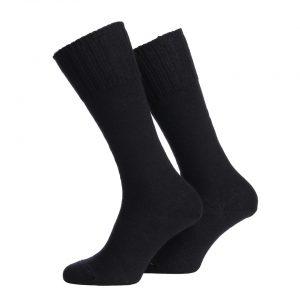 PR. LEGER SOKKEN 70% WOL – Zwart Sokken