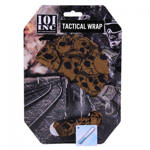 , 101 INC TACTICAL WRAP MET SKULL (COOLMAX) Coyote, deDump.nl