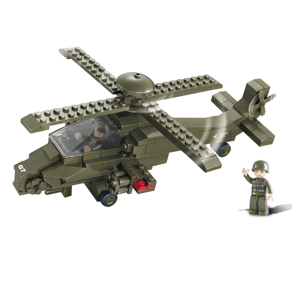 SLUBAN ATTACK HELICOPTER M38-B0298 #16155