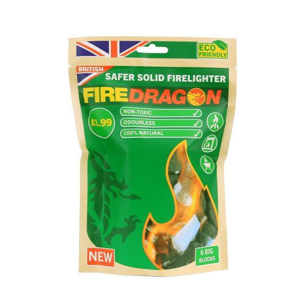 , BCB FIRE DRAGON SOLID FUEL CN346 – 6 stuks, deDump.nl