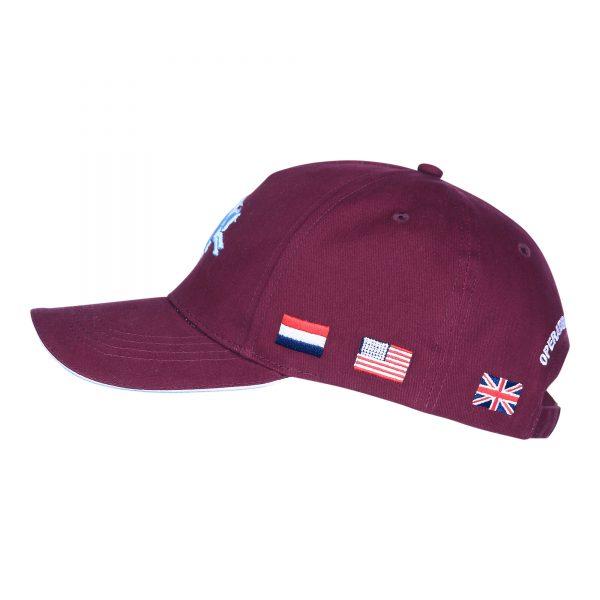 , Fostex Baseball cap Operation Market Garden Bordo, deDump.nl