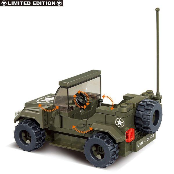 , Sluban Jeep Allied Star M38-70207 #16086, deDump.nl