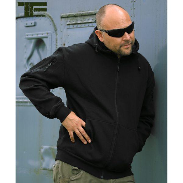 , TF-2215 Tactical hoodie Zwart, deDump.nl