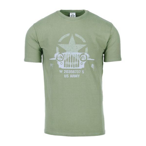 , Fostex T-shirt Allied Star – Willy jeep, deDump.nl