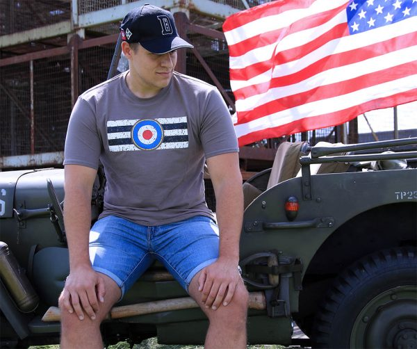 , Fostex T-shirt Royal Air Force vintage, deDump.nl