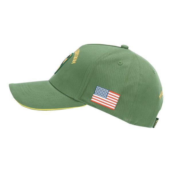 , Fostex Baseball cap US Cavalry WWII 3D Groen, deDump.nl