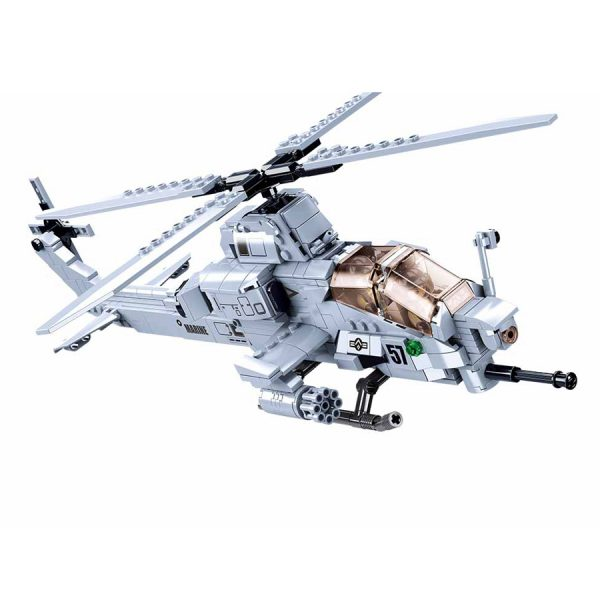 , Sluban Attack Helicopter M38-B0838 #16117, deDump.nl