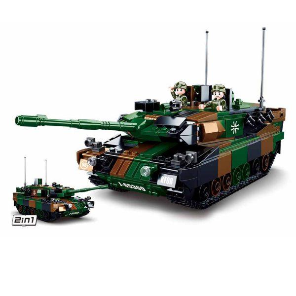 , Sluban German Main Battle Tank M38-B0839 #16088, deDump.nl