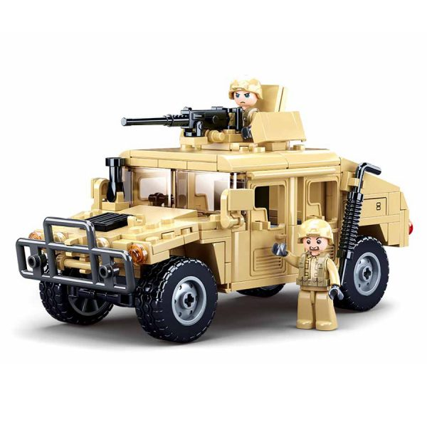 , Sluban Offroad Assault Vehicle M38-B0837 #16113, deDump.nl