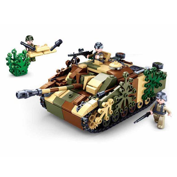 , Sluban Camouflages Tank M38-B0858 #16074, deDump.nl