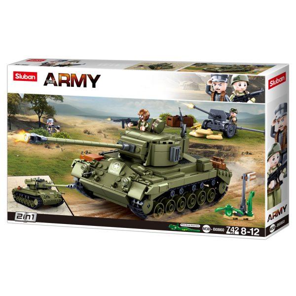 , Sluban Allied medium tank M38-B0860 #16116, deDump.nl