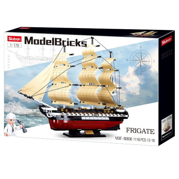 , Sluban Fregat M38-B0836 #16089, deDump.nl