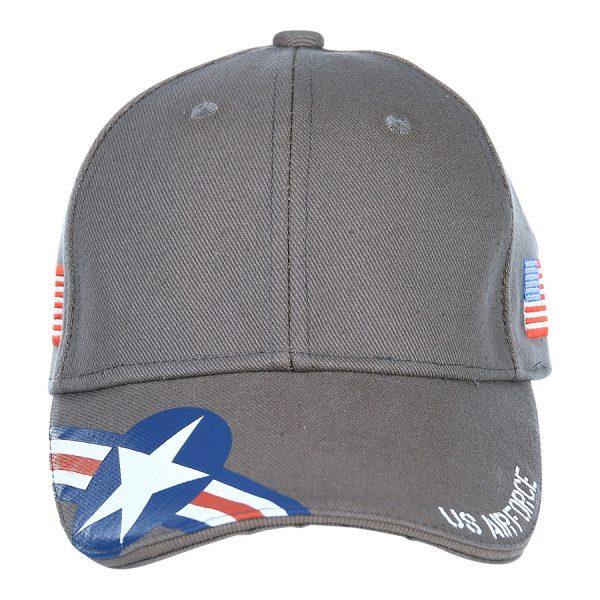 , Fostex Baseball cap U.S. Air Force USAF Grijs, deDump.nl