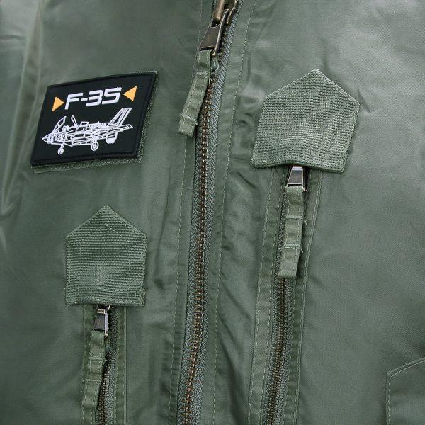 , Fostex F-35 Flight Jacket Blauw, deDump.nl