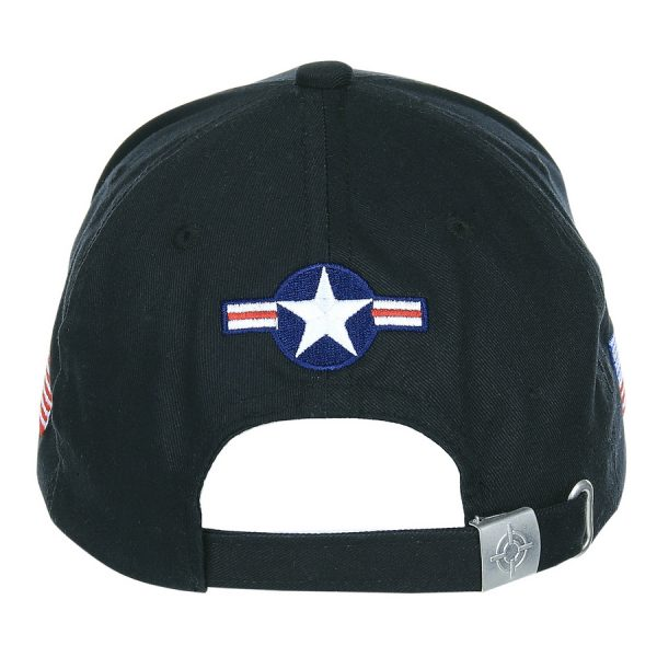 , Fostex Baseball cap U.S. Air Force USAF Zwart, deDump.nl