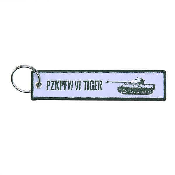 , Sleutelhanger PzKpfw VI Tiger Tank #98, deDump.nl
