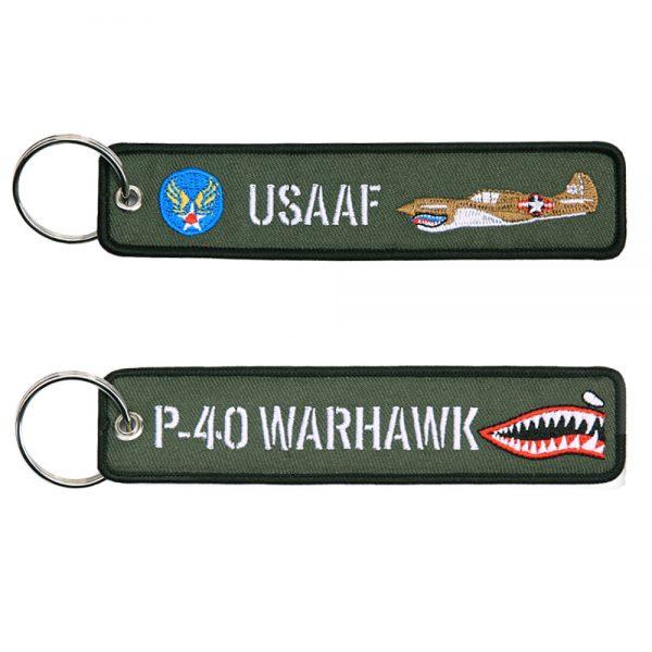 , Sleutelhanger P-40 Warhawk #97, deDump.nl