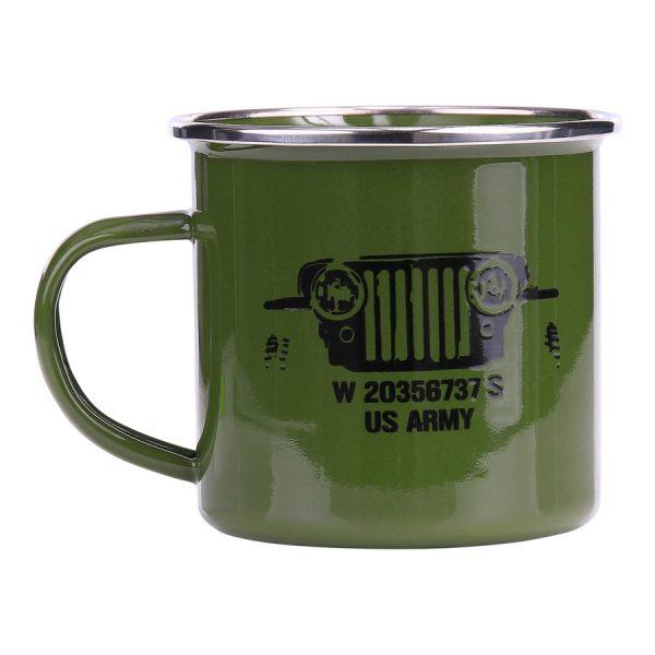 , Fostex Emaille mok US Army, deDump.nl