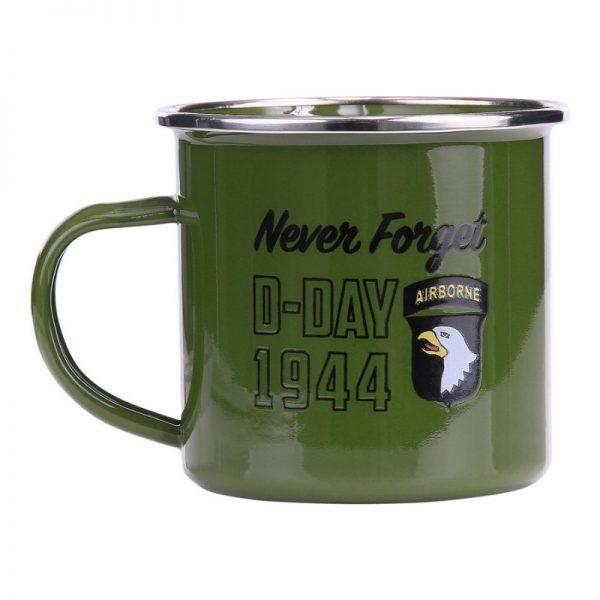 , Fostex Emaille mok D-Day 1944, deDump.nl