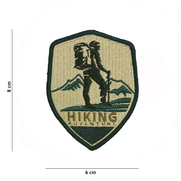 , Fosco Embleem stof Hiking Adventure #23005, deDump.nl
