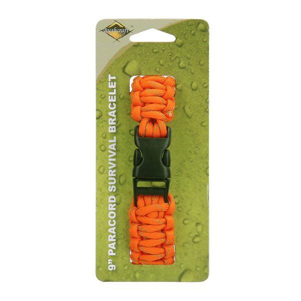 , BCB Paracord 9 inch oranje CM073OR, deDump.nl