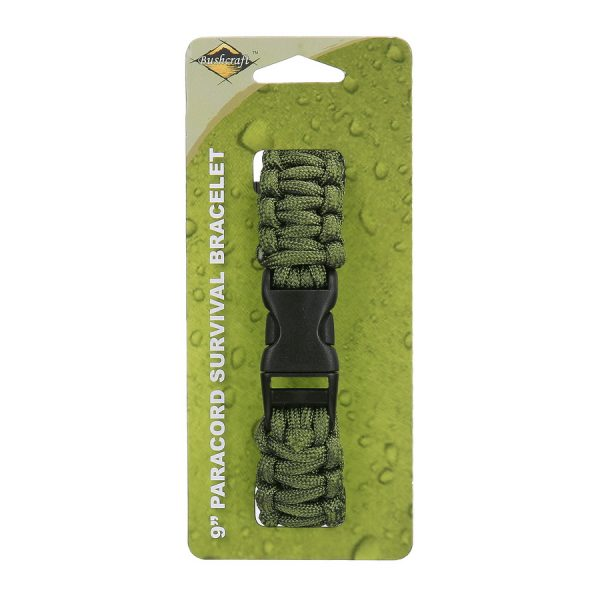 , BCB Paracord 9 inch groen CM073G, deDump.nl