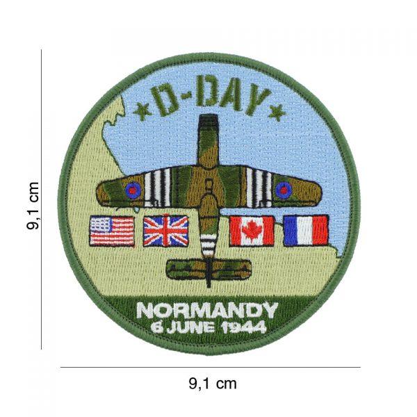 , Embleem stof D-Day Horsa #19079, deDump.nl