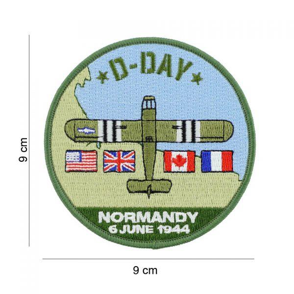 , Embleem stof D-Day Waco #19080, deDump.nl