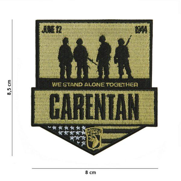 , Embleem stof Carentan #20004, deDump.nl