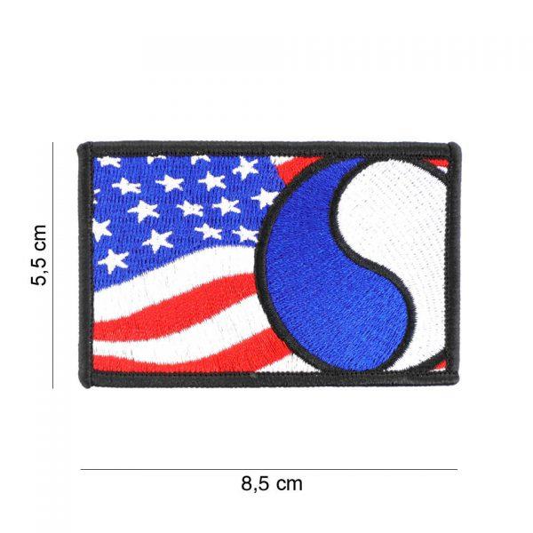 , Embleem stof 29th Infantry vlag #19087, deDump.nl