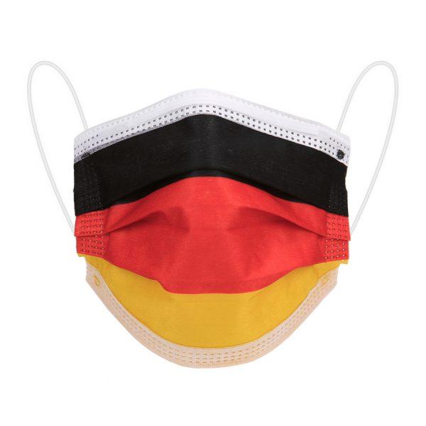 , Mondkapjes Duitsland 10 stuks, deDump.nl