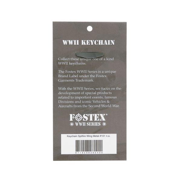 , Fostex Sleutelhanger Spitfire Wing Metal #101, deDump.nl