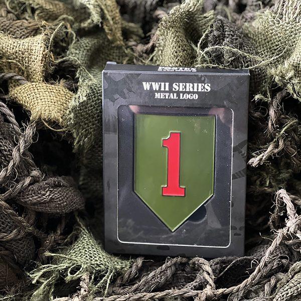 , Fostex Metaal logo 1st Infantry Division, deDump.nl