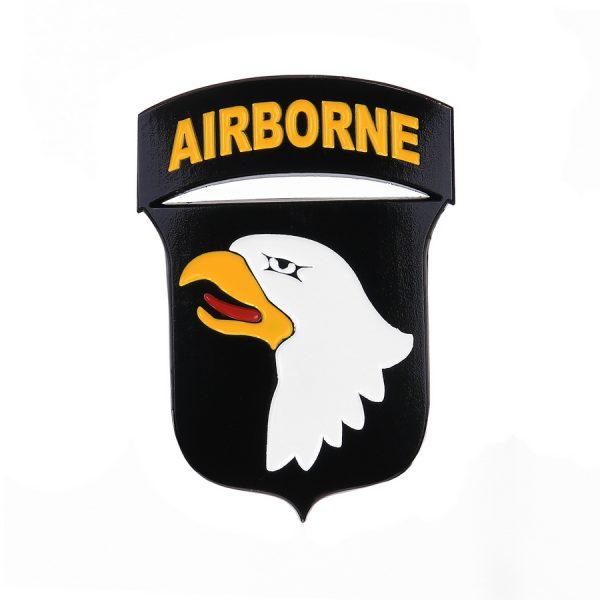 , Fostex Metaal logo 101st Airborne Division, deDump.nl