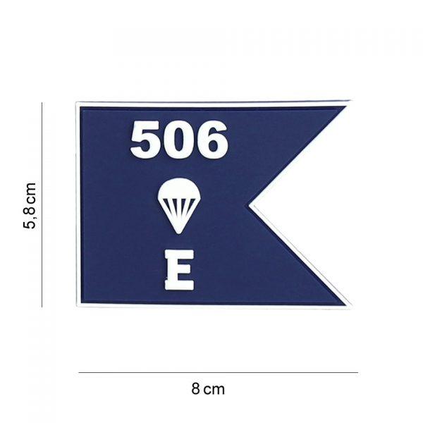, Embleem 3D PVC E Company guide #19067, deDump.nl
