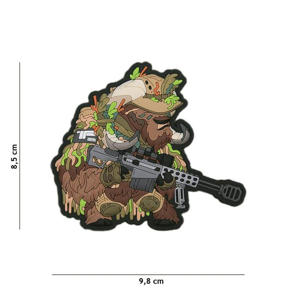 , TF-2215 Embleem 3D PVC Sniper Ox Nr.3 #23013, deDump.nl
