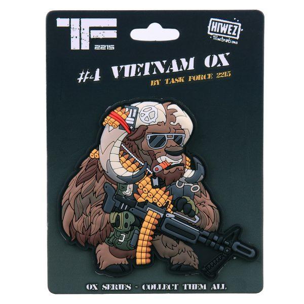 , TF-2215 Embleem 3D PVC Vietnam Ox Nr. 4 #23014, deDump.nl