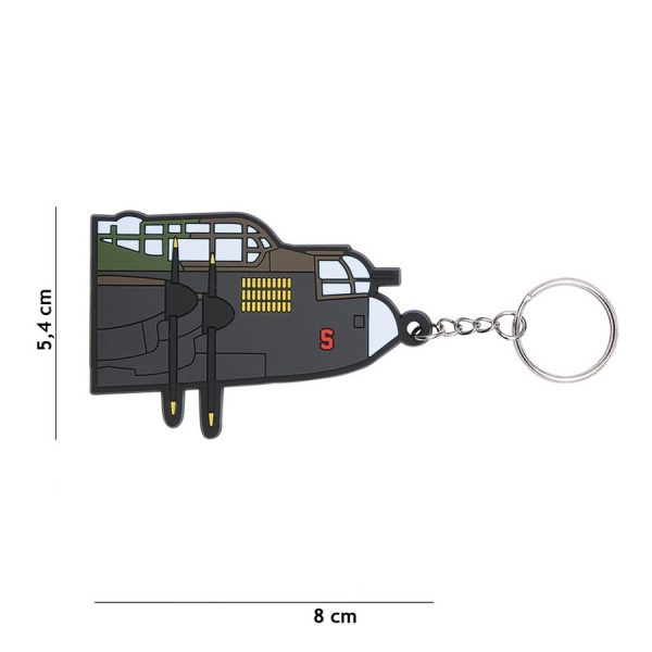 , Sleutelhanger 3D PVC Avro Lancaster #112, deDump.nl