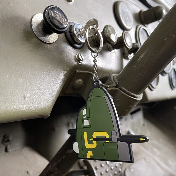 , Sleutelhanger 3D PVC C-47 Skytrain #110, deDump.nl