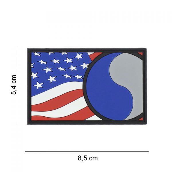 , Embleem 3D PVC 29th Infantry vlag #7092, deDump.nl