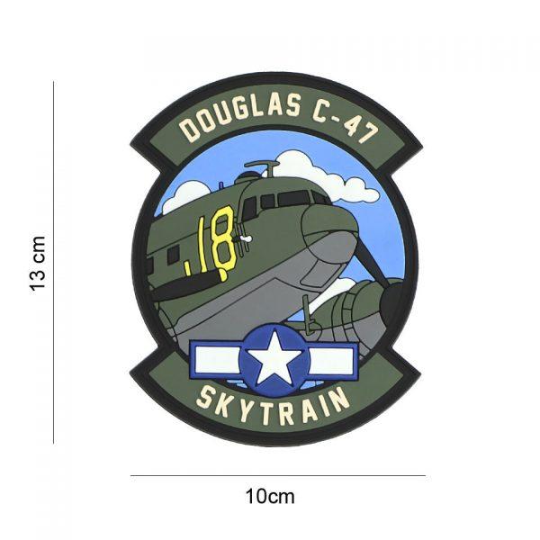 , Embleem 3D PVC Douglas C-47 #19075, deDump.nl